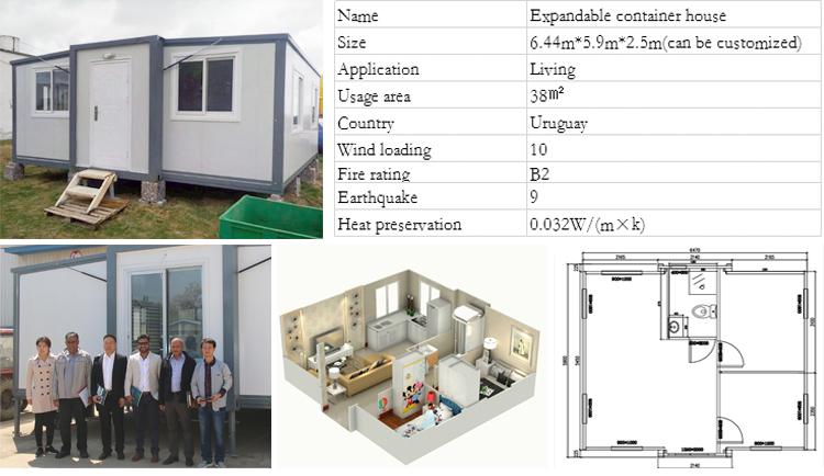 Fab House prefab energy conservation modular foldable house pre fab house