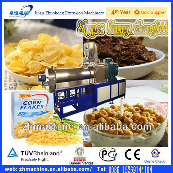 Automatic Chocos Cereal Making Machine