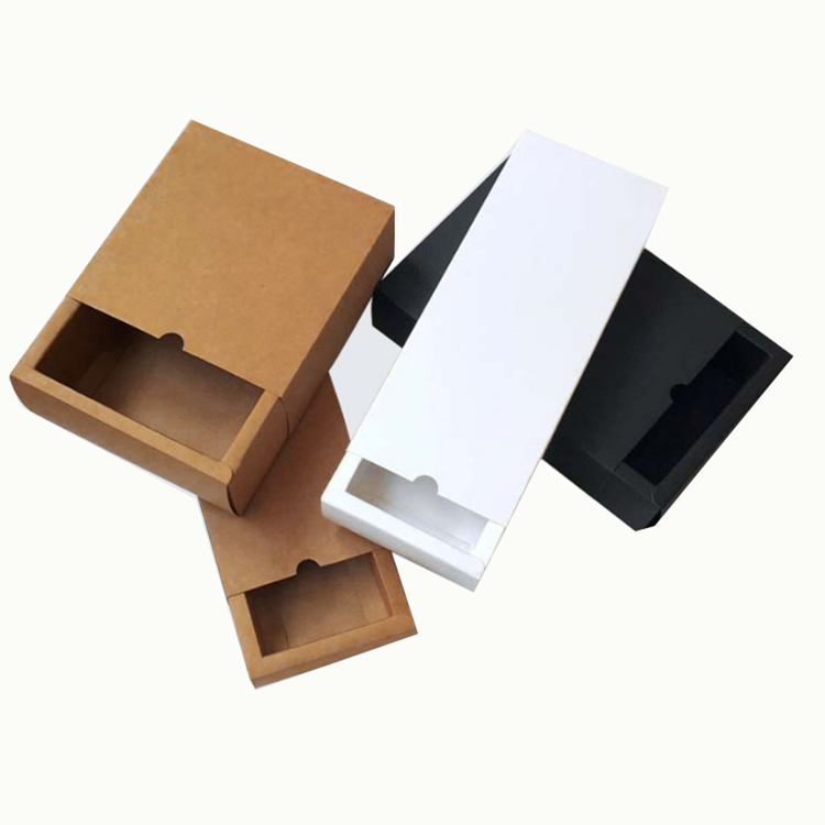 2020 factory custom logo cheap drawer gift packing paper box