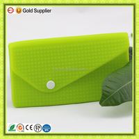 Discount candy silicone zipper hand bags for women