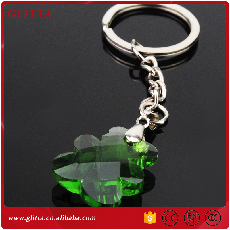 YX018 2017 Handcrafted Crystal Teddy Bear Keychain For Party Souvenirs