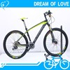 "MTB 27.5"" 30 gears carbon fiber frame with bicycle disc brake"