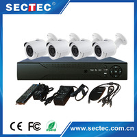 best selling home security 1080P HD NVR KIT 4 Channel for 1mp IP Camera Outdoor 720P P2P nvr set