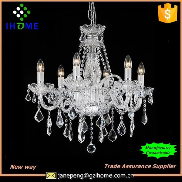china supplier supply modern bobeche crystal chandelier