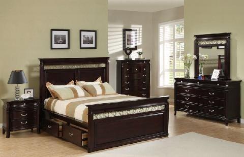 طقم أثاث غرفة نوم جاهزة للشحن مجموعات غرف النوم للفندق