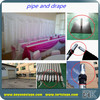 RK hot selling drapery home curtain/pipe and drape wedding backdrop for cheap price