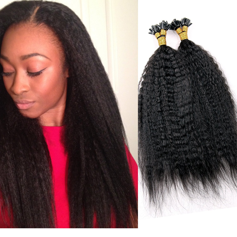 Buy Luffywig 8a Virgin Human Hair I Tip U Tip Hair Extensions