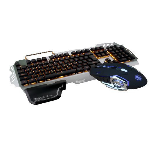IK900 104 keys Flexible Mechanical Wired Computer Keyboard And Mouse Combos For Gaming