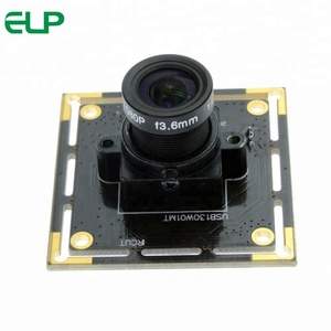 ELP USB Web Camera 1.3m pixel Aptina AR00130 HD Color Image Sensor Low Light Camera Module For Raspberry Pi, Lunix,Android