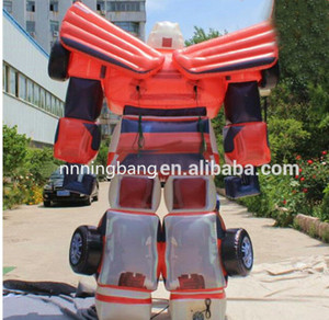 Giant inflatable robot replica for Science Museum promotion
