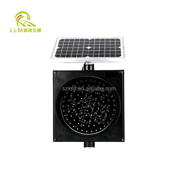 2016 Best selling Long performance life yellow solar flashing warning light