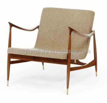 living room wooden frame chesterfield armchair - Wood Frame Armchair