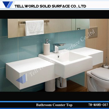 bathroom countertop with built in sink bathroom sink countertop bathroom countertops 24858