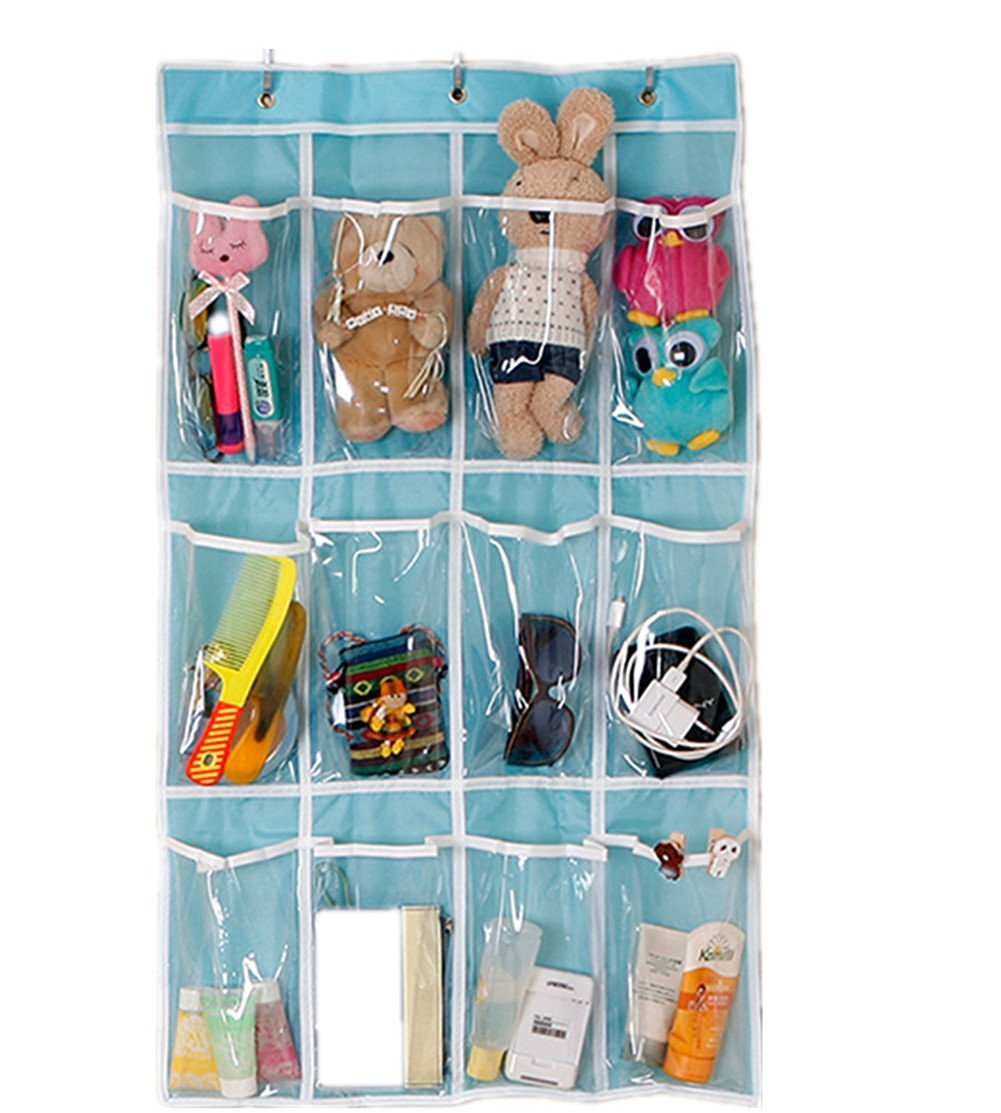 Buy Snw Hanging Organizer Over The Door 12 Pockets Organizer Wall