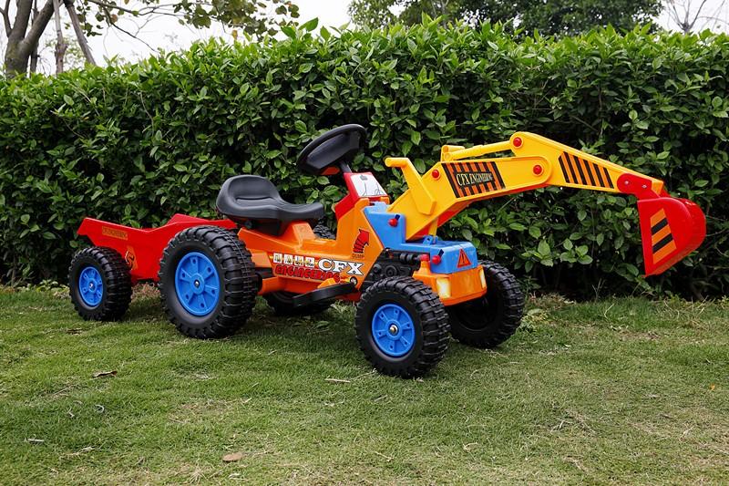 Direto da fábrica durável brinquedos de bebê mini trator de pedal elétrico