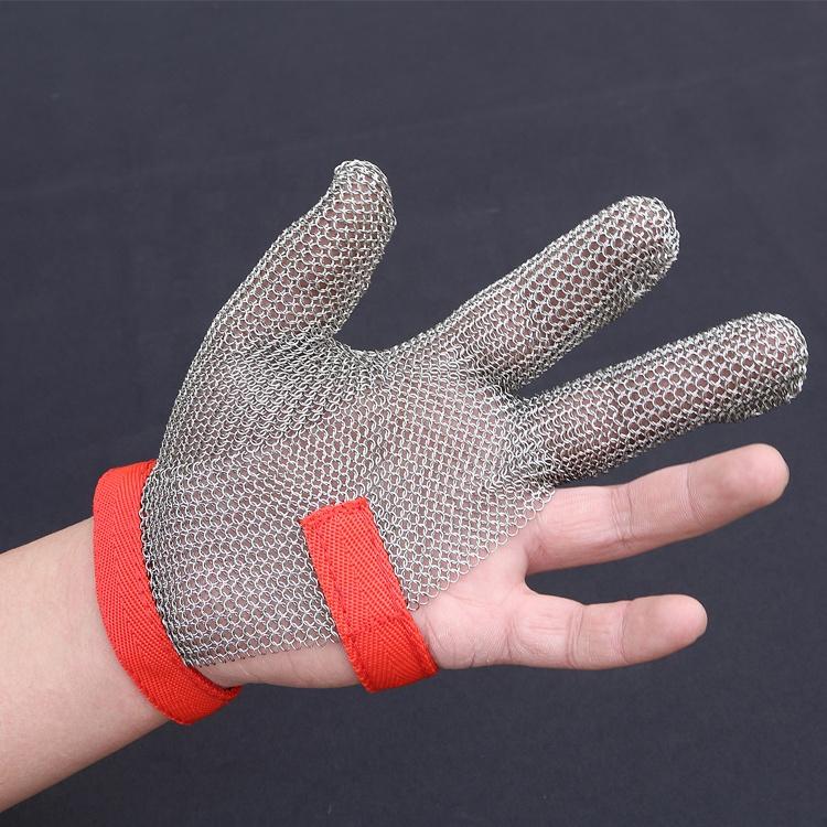gant anti coupure cuisine 304L treillis métallique en acier Inoxydable anti-coupure gants pour la  cuisine