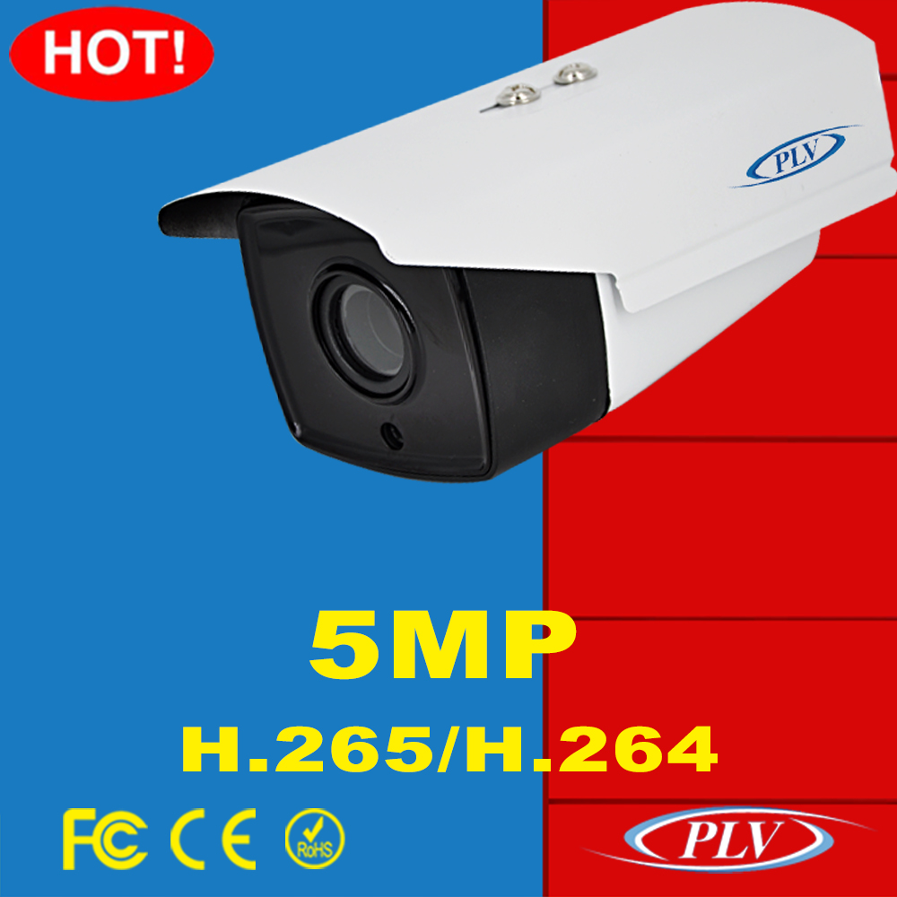 New 2592*1944 real time p2p onvif outdoor waterproof ip camera 5 mp