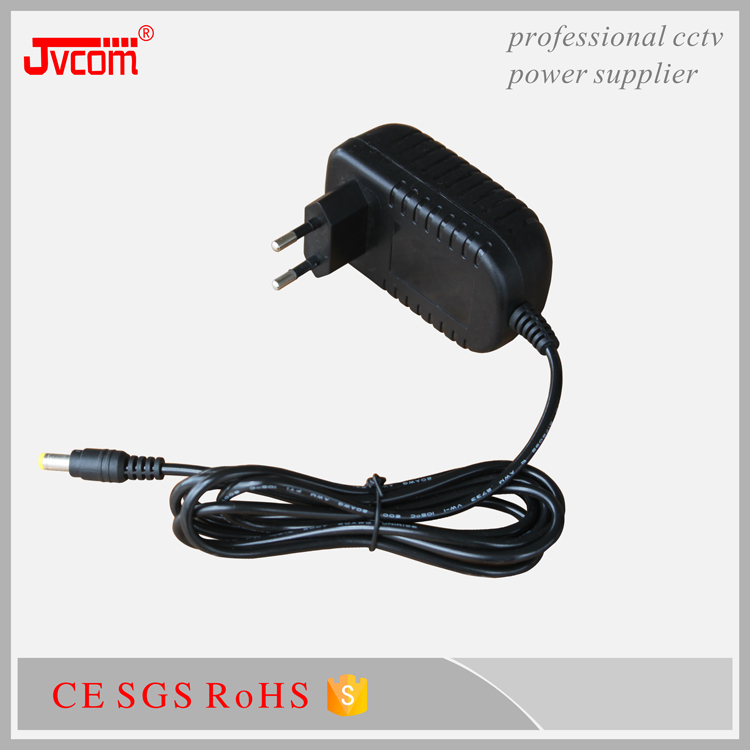 Reasonable price 12v 2a ac dc power adapter with RoHS CE FCC approved Certification for cctv camera