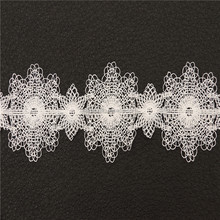 Hot Selling Beautiful Wedding Lace 3d Mesh Flower Lace Fabric