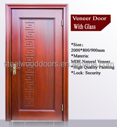 Interior Wooden Mdf Indian Main Door Designs