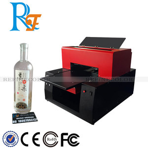 Glass/ plastic bottle rotary cylinder uv printer