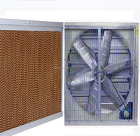 Cooling Pad/Exhaust Fan/Air Cooler/Unpowered Cowl/Chicken Poultry Farm Equipment