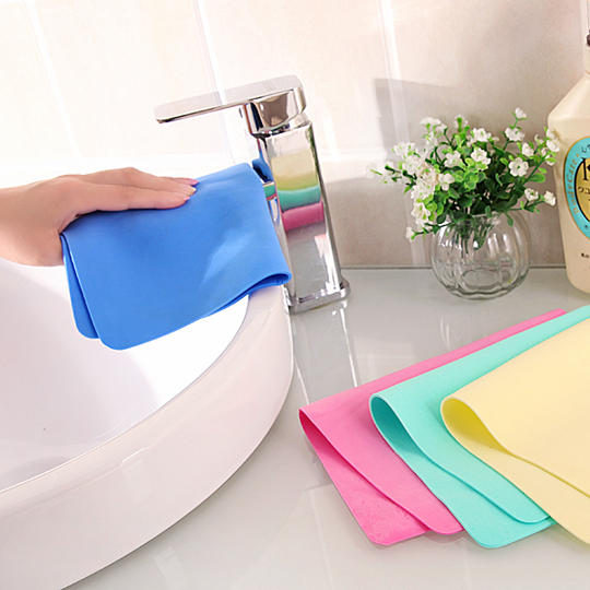 Newest sale many colors different color pva chamois towel