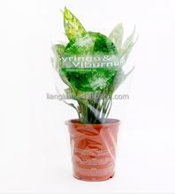 plastic bag flower packaging plastic flower bag flower pots