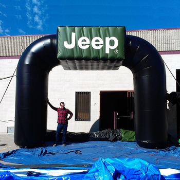 Custom logo inflatable race arch outdoor event cheap inflatable finish line arch