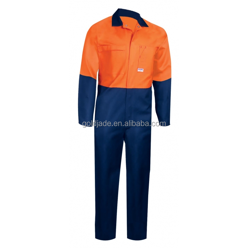 Wholsale custom Poly Cotton workers overall uniforms painter Crew work overall