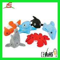 EN71 Sealife sea animal plush stuffed baby toy for gift