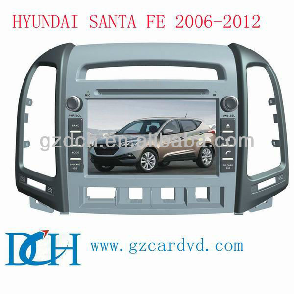 car dvd gps navigation system for HYUNDAI SANTA FE 2006-2012 with 3G WS-9208