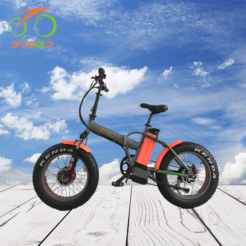 20 inch folding e bike electric bicycle 48v with 500w brushless hub motor for adults