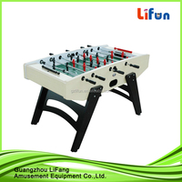 wooden table for football games for amusement
