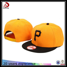 wholesale cheap custom personalized fitted flat cap embroidery snapback hats no minimum
