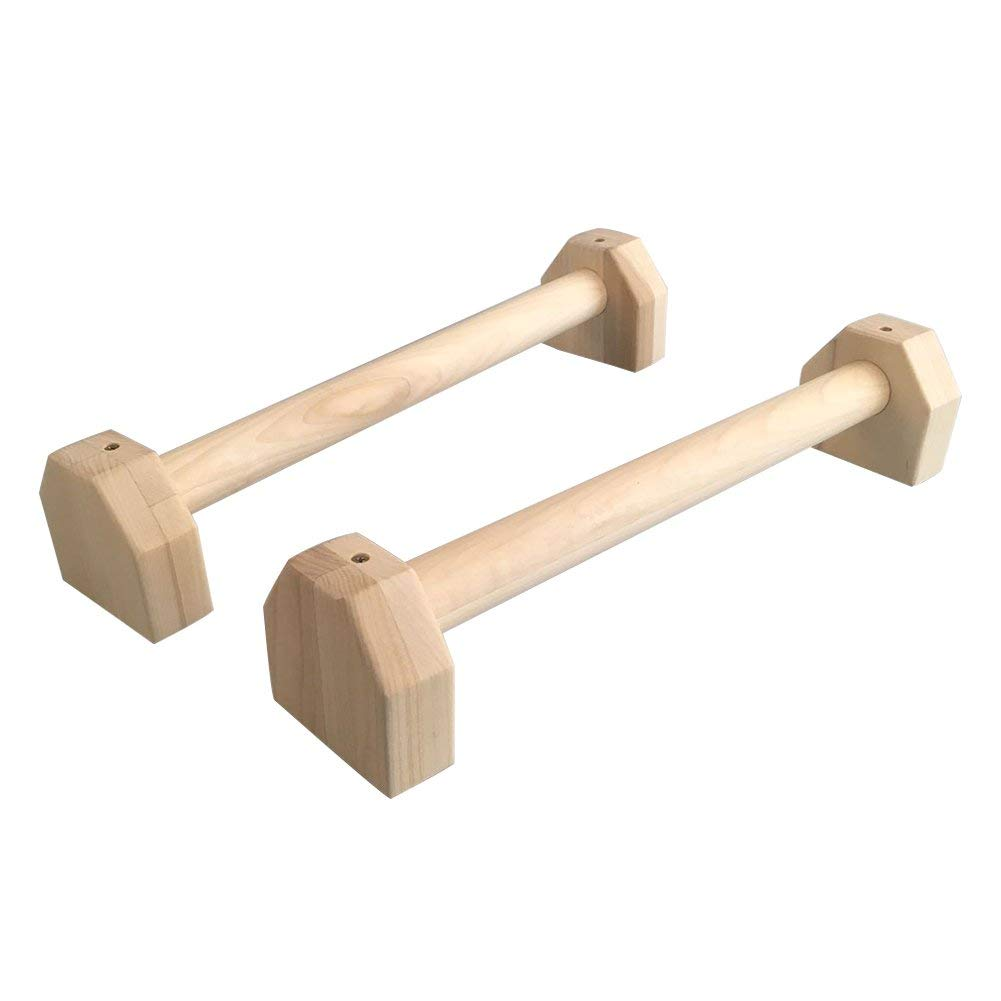 Stretch Stand Wooden Single Double Bars Calisthenics Handstand Personalised Bars Wooden Push-Ups Double Rod