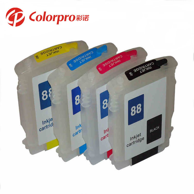 L7590/L7580 refillable ink cartridge for hp88 for HP Officejet Pro /K5400dtn/K5400n/K5400tn