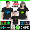 High quality kids led t-shirts,fancy kids t-shirt