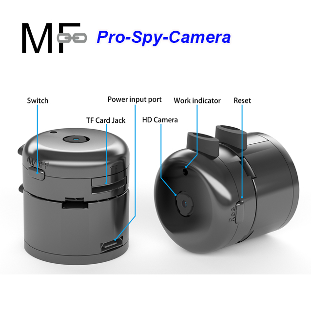 2019 latest magnet round 32GB DVR wearable spy camera