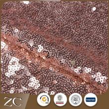 Chine fournisseur pas cher personnalisé mariage or rose paillettes <span class=keywords><strong>tissu</strong></span>