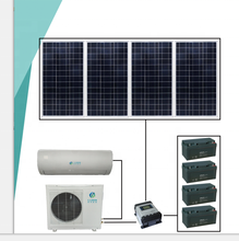 48V solar air conditioner home use energy saving wall split type