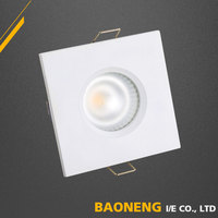 Energy Saving Aluminum Alloy 5W Square Recessed Spotlight