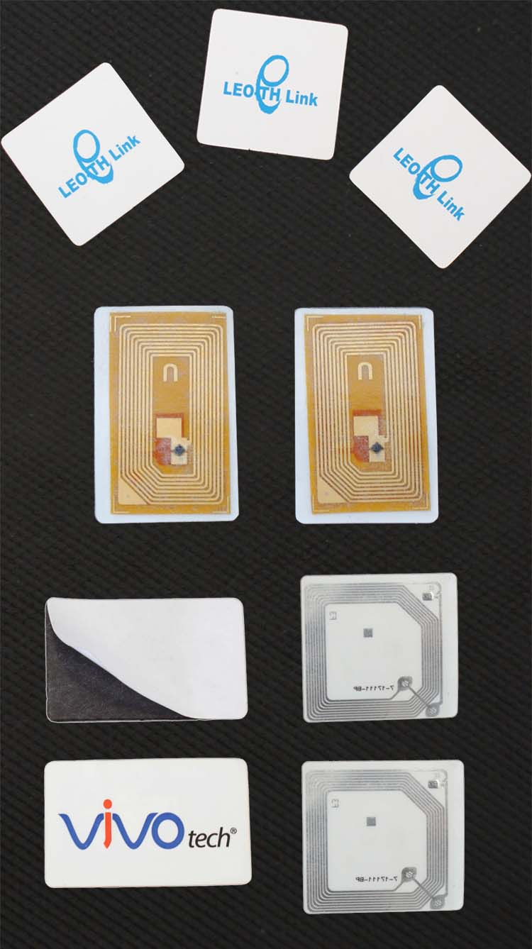 Low Price Size 47*51mm UHF RFID Inlay With ALN H3 ISO/IEC 18000-6C