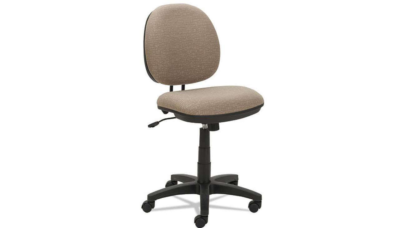 Task Chair Alera Interval Swivel Tilt Tone-On-Tone Fabric, Sandstone Tan K&A Company