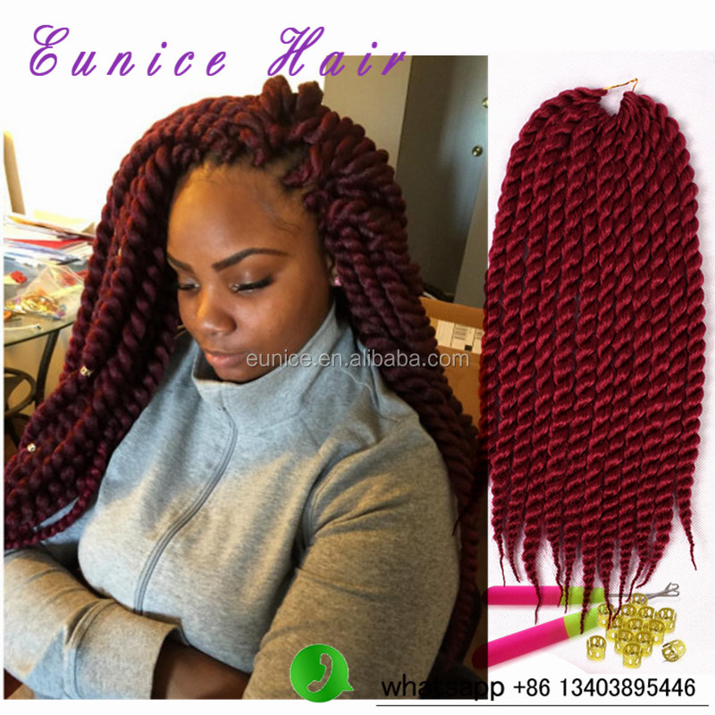 12 24havana Mambo Twist Crochet Braids Marley Twists Synthetic