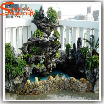 Home Decor High Quality Garden Decorative Stone Wall Waterfall ...