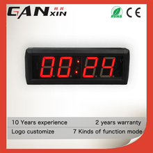 [GANXIN]Customized Logo Small Screen Led Digital Desk Clock