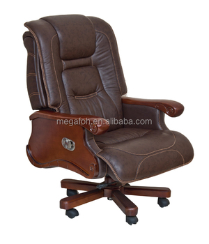 Hot Sale Big Boss Chair, Italian Leather Presidential Chair, Administrator  Chair(FOH