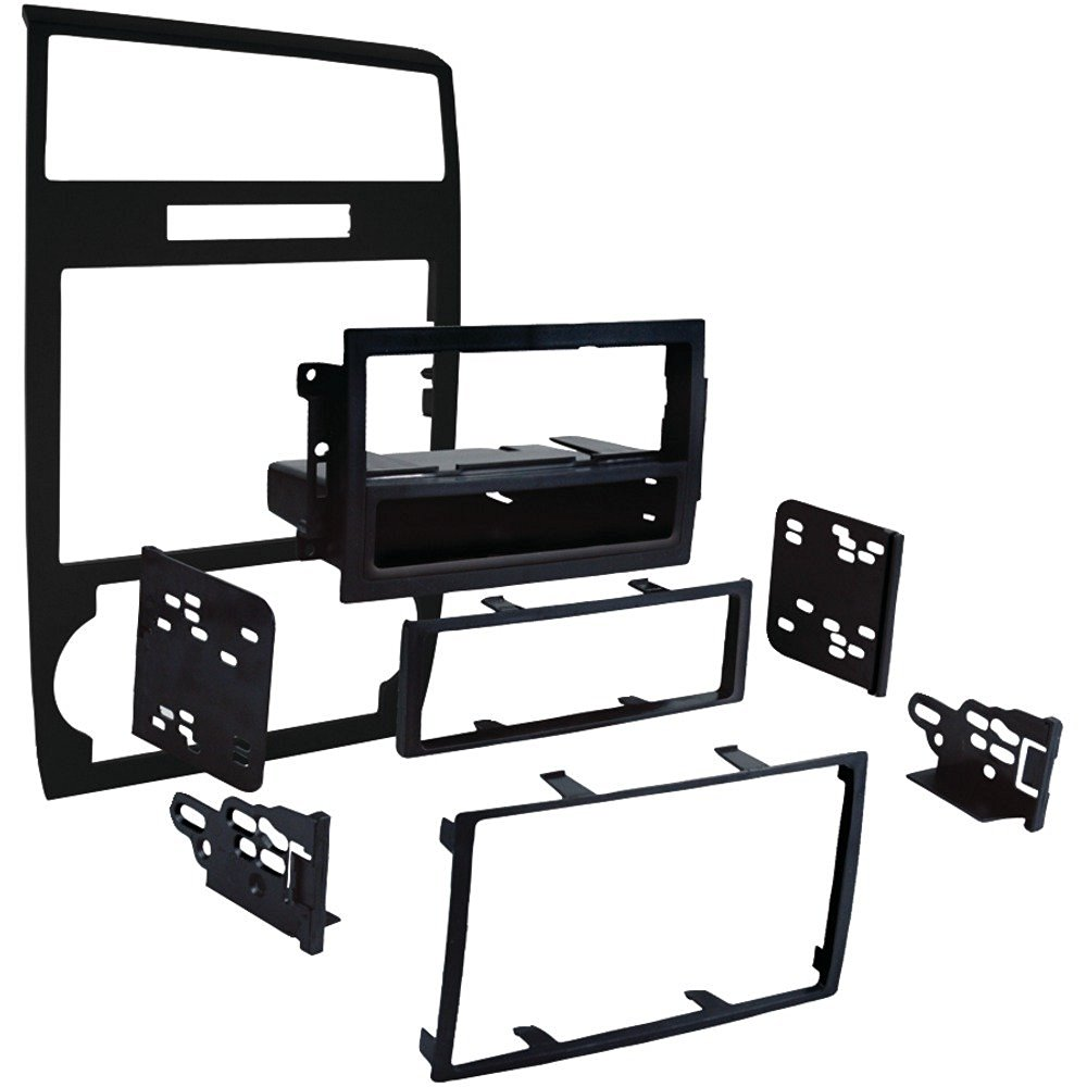 1 - 2005 - 2007 Dodge(R) Charger Single-DIN/Double-DIN Installation Kit, DIN radio provision with pocket, ISO DIN radio provision with pocket, 99-6519B
