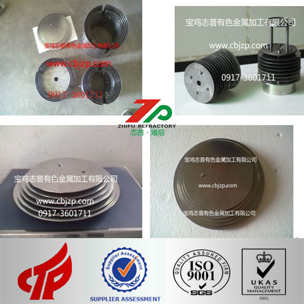 high quality Tungsten,Molybdenum,Tantalum,Niobium Products, soft shaft special used in Single crystal furnace